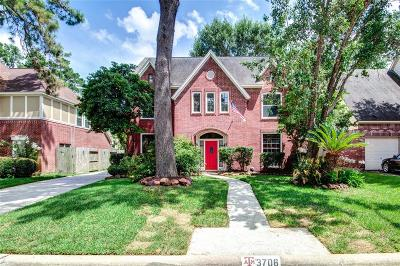 Houston Single Family Home For Sale: 3706 Spring Arbor Way