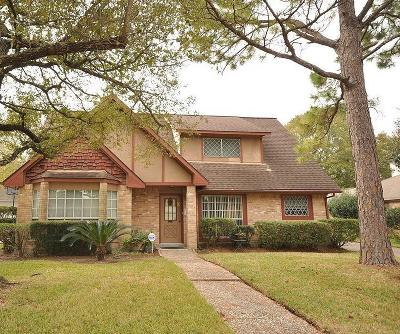 Houston Single Family Home For Sale: 207 Lochnell Drive