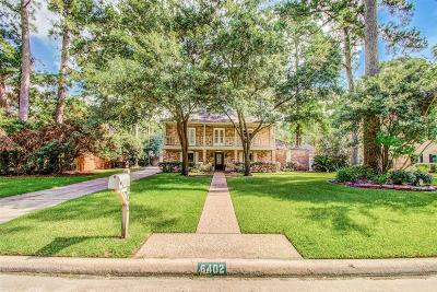 Spring Single Family Home For Sale: 6402 Knollview Drive