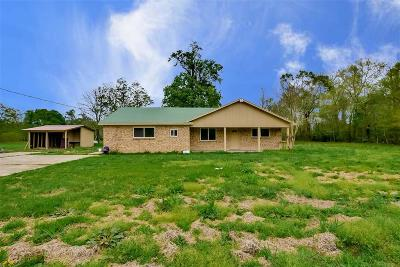 Conroe Single Family Home For Sale: 13653 Walker Road
