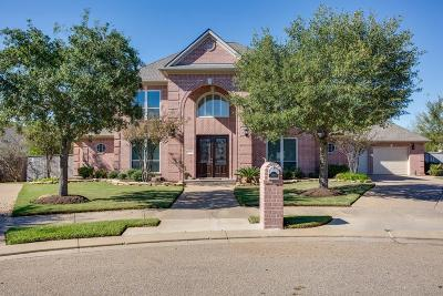 Bryan Single Family Home For Sale: 3705 Creston Lane