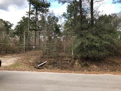 Country Home/Acreage For Sale: 0 Montgomery