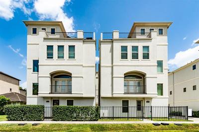 Houston Single Family Home For Sale: 4314 Gibson Street #C