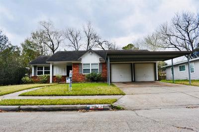 Houston Single Family Home For Sale: 6923 W Triola Lane