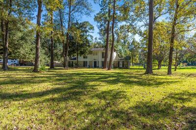 Crosby Single Family Home For Sale: 4700 Harvey Road