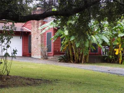Trinity County Single Family Home For Sale: 151 S Oak Bluff St Street