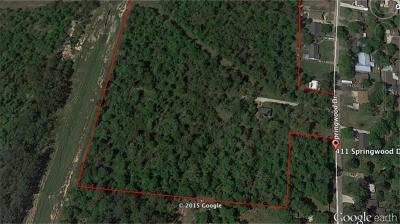 Montgomery County Farm & Ranch For Sale: 411 Springwood Drive