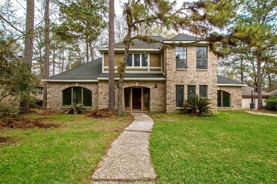 Kingwood Single Family Home For Sale: 5211 Windy Lake Drive