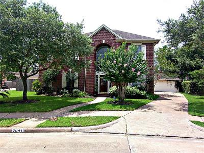 Single Family Home Sold: 20410 Autumn Terrace Ln
