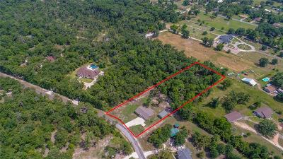 Walker County Single Family Home Option Pending: 10 Armadillo Drive