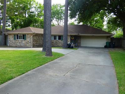 Houston Single Family Home For Sale: 12735 Memorial Drive