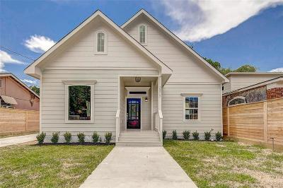 Houston Single Family Home For Sale: 2407 Churchill Street