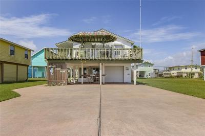 Galveston Single Family Home For Sale: 4206 Panola Drive