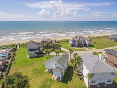 Galveston Single Family Home For Sale: 18210 E De Vaca