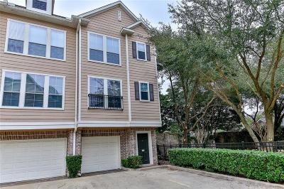 Houston Condo/Townhouse For Sale: 3001 Murworth Drive #104