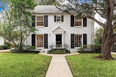 Houston Single Family Home For Sale: 2408 Dryden Road