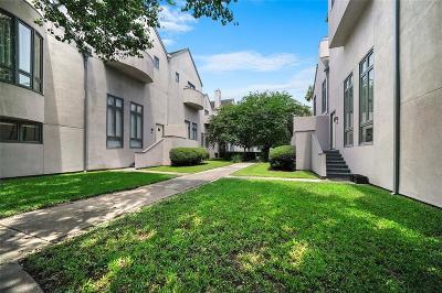 Houston Condo/Townhouse For Sale: 1383 Arlington Street #1383