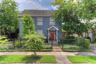 Houston Single Family Home For Sale: 1203 W Bell Street