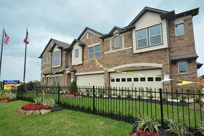 Rosenberg Condo/Townhouse For Sale: 3411 Rainflower Springs Lane