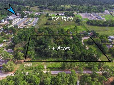 Houston Residential Lots & Land For Sale: Moonshine Hill Road
