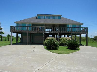Crystal Beach Single Family Home For Sale: 980 Mary Lynn