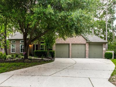 Conroe Single Family Home For Sale: 6 Emery Mill Place