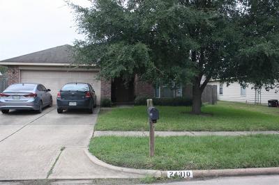 Hockley Single Family Home Pending: 24310 Bar Kay Lane