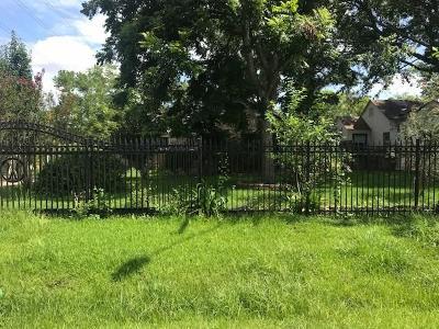 Houston Single Family Home For Sale: 1703 Deams Street