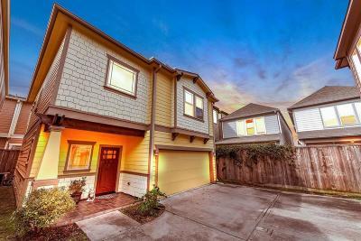 Houston Single Family Home For Sale: 5924 Petty Street #3C