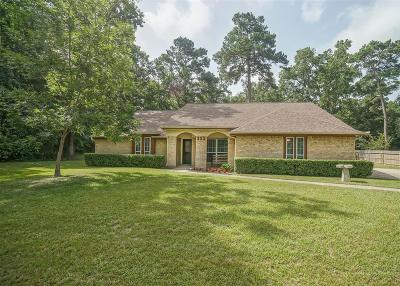 New Caney Single Family Home For Sale: 222 Chariot Lane