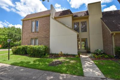Bellaire Condo/Townhouse For Sale: 5203 Woodlawn Place