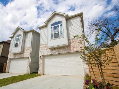 Houston TX Single Family Home For Sale: $439,900