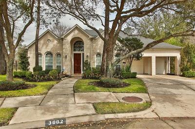 Houston Single Family Home For Sale: 3002 Baywood Park Drive