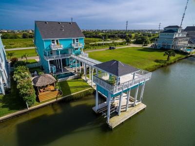 Galveston Single Family Home For Sale: 13602 Stewart Road