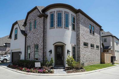 Houston Single Family Home For Sale: 1606 West Rose Terrace Lane
