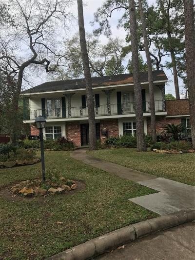Houston TX Single Family Home For Sale: $915,000