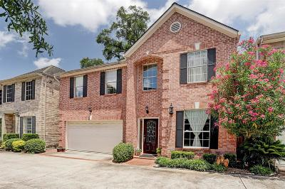 Houston Single Family Home For Sale: 1424 Woodvine Drive
