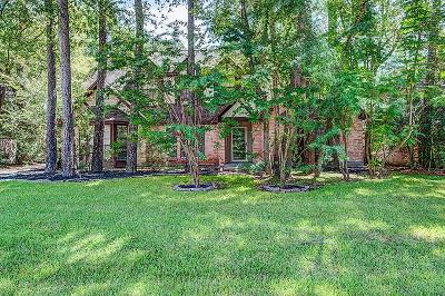The Woodlands Single Family Home For Sale: 4 Falling Star
