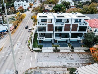 Houston Condo/Townhouse For Sale: 1803 Indiana Street