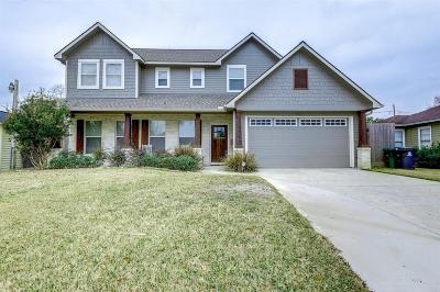 Houston Single Family Home For Sale: 1107 Nashua Street