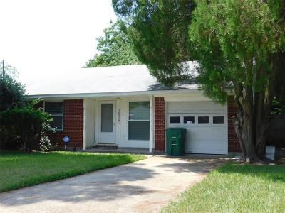 Houston Single Family Home For Sale: 10538 Stover Street