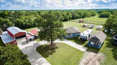 Crosby Single Family Home For Sale: 17124 Miller Wilson Road