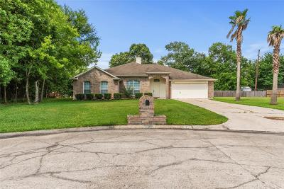 Crosby Single Family Home For Sale: 16910 Hatch Court