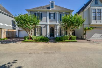 Houston TX Single Family Home For Sale: $589,900