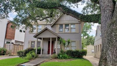 Houston Single Family Home For Sale: 1927 Norfolk Street