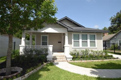 Houston Single Family Home For Sale: 1629 Tabor Street