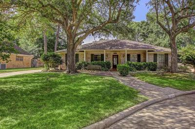 Houston Single Family Home For Sale: 18010 Hollywell Drive