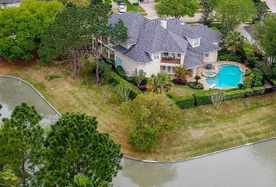 Houston Single Family Home For Sale: 12711 Waterside Way