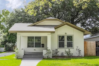 Houston Single Family Home For Sale: 1546 Scharpe Street