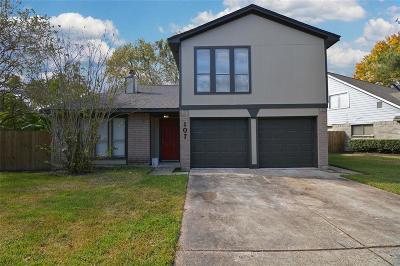 League City Single Family Home For Sale: 107 Civil Drive